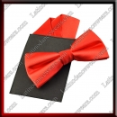 MAN LATIN SALSA BALLROOM BOW TIE AND POCKET SQUARE (MC16)