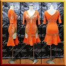 LATIN SALSA COMPETITION DRESS LDW (LT1212A)
