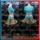 LATIN SALSA COMPETITION DRESS LDW (LS424)