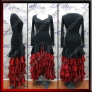 LATIN SALSA COMPETITION DRESS LDW (LT3047)