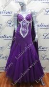 BALLROOM COMPETITION DRESS LDW SIZE M (VS119)