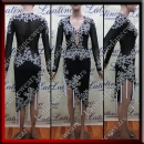 LATIN SALSA COMPETITION DRESS LDW SIZE S (VL519)