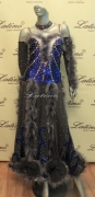 BALLROOM COMPETITION DRESS LDW (SS30) only on sale on latinodancewears.com