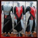 LATIN SALSA COMPETITION DRESS LDW SIZE M (VL522)