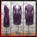 LATIN SALSA COMPETITION DRESS LDW (LS398A)
