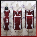 LATIN SALSA COMPETITION DRESS LDW (LT1244A)