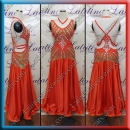 BALLROOM COMPETITION DRESS LDW (ST1023)