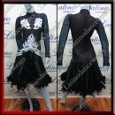 LATIN SALSA COMPETITION DRESS LDW SIZE M (VL524)