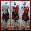 LATIN SALSA COMPETITION DRESS LDW SIZE M (VL529)
