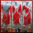 LATIN SALSA COMPETITION DRESS LDW SIZE M (VL530)
