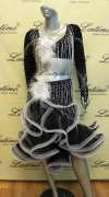 LATIN SALSA COMPETITION DRESS LDW (LS142) only on sale on latinodancewears.com