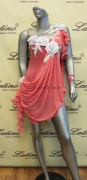 LATIN SALSA COMPETITION DRESS LDW (LS108) only on sale on latinodancewears.com