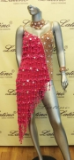 LATIN SALSA COMPETITION DRESS LDW (LS144) only on sale on latinodancewears.com