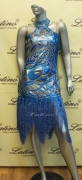 LATIN SALSA COMPETITION DRESS LDW (LS145) only on sale on latinodancewears.com