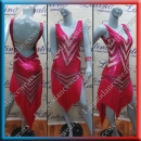 LATIN SALSA COMPETITION DRESS LDW SIZE M (VL535)