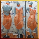 LATIN SALSA COMPETITION DRESS LDW SIZE M (VL538)
