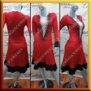 LATIN SALSA COMPETITION DRESS LDW SIZE M (VL539)