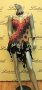 LATIN SALSA COMPETITION DRESS LDW (LS150) only on sale on latinodancewears.com