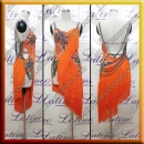 LATIN SALSA COMPETITION DRESS LDW (LT1472)
