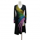 LATIN SALSA COMPETITION DRESS LDW (LT3068)
