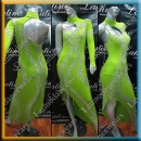 LATIN SALSA COMPETITION DRESS LDW SIZE M (VL568)