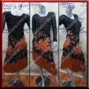 LATIN SALSA COMPETITION DRESS LDW SIZE M (VL570)