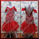 LATIN SALSA COMPETITION DRESS LDW SIZE M (VL572)