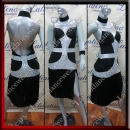 LATIN SALSA COMPETITION DRESS LDW SIZE M (VL573)