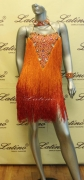 LATIN SALSA COMPETITION DRESS LDW (LS75A) only on sale on latinodancewears.com