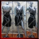 LATIN SALSA COMPETITION DRESS LDW SIZE M (VL580)