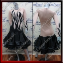 LATIN SALSA COMPETITION DRESS LDW SIZE M (VL581)