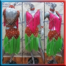 LATIN SALSA COMPETITION DRESS LDW SIZE M (VL582)