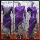 LATIN SALSA COMPETITION DRESS LDW SIZE M (VL584)