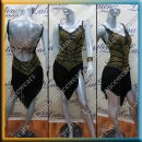 LATIN SALSA COMPETITION DRESS LDW SIZE M (VL585)