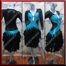 LATIN SALSA COMPETITION DRESS LDW SIZE M (VL587)