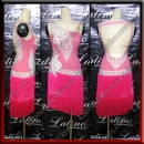 LATIN SALSA COMPETITION DRESS LDW (VL689B)