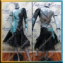 LATIN SALSA COMPETITION DRESS LDW SIZE M (VL589)