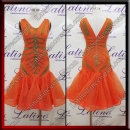 LATIN SALSA COMPETITION DRESS LDW (LT3540)