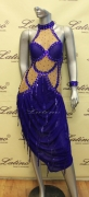 LATIN SALSA COMPETITION DRESS LDW (LS158) only on sale on latinodancewears.com
