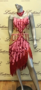 LATIN SALSA COMPETITION DRESS LDW (LS161) only on sale on latinodancewears.com