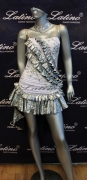 LATIN SALSA COMPETITION DRESS LDW (LS193) only on sale on latinodancewears.com