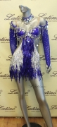LATIN SALSA COMPETITION DRESS LDW (LS163) only on sale on latinodancewears.com