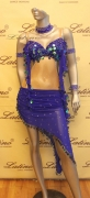 LATIN SALSA COMPETITION DRESS LDW (LS191) only on sale on latinodancewears.com