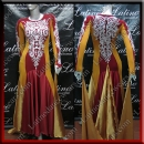 BALLROOM COMPETITION DRESS LDW SIZE M (VS168)