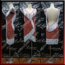 LATIN SALSA COMPETITION DRESS LDW SIZE M (LS387)
