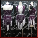 LATIN SALSA COMPETITION DRESS LDW SIZE M (LS392)