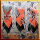 LATIN SALSA COMPETITION DRESS LDW SIZE M (VL627)