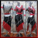 LATIN SALSA COMPETITION DRESS LDW SIZE M (VL628)