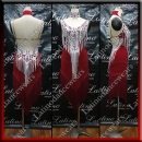 LATIN SALSA COMPETITION DRESS LDW SIZE M (VL629)