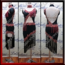 LATIN SALSA COMPETITION DRESS LDW SIZE M (VL631)